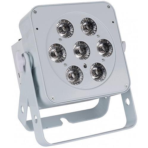 PROJECTEUR LED 7x8W BLANC RVB+ BLANC LED PLANO 7FC-WHITE