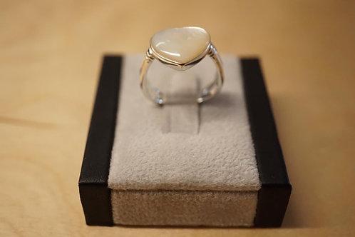 S/S Heart Shape Ring