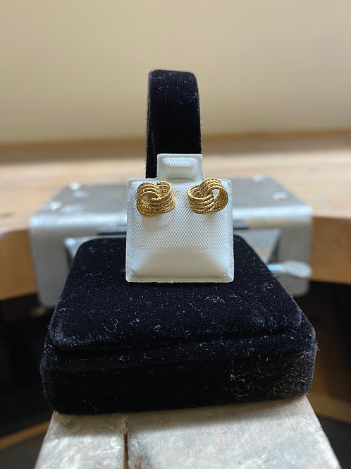 9CT Infinity Textured Loops