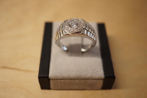 S/S CZ Ring