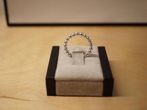 S/S Beaded Ring