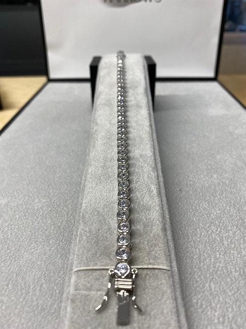 S/S Ladies CZ Tennis Bracelet