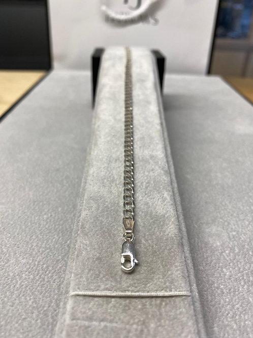 S/S Gents Lighter Curb Bracelet