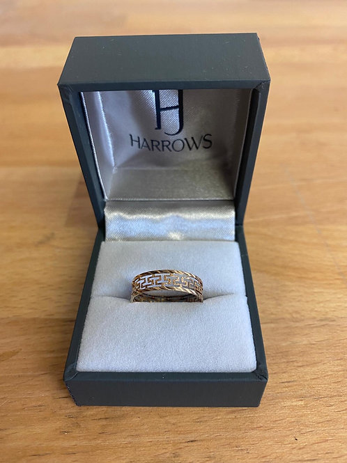 9CT Y/G Ring