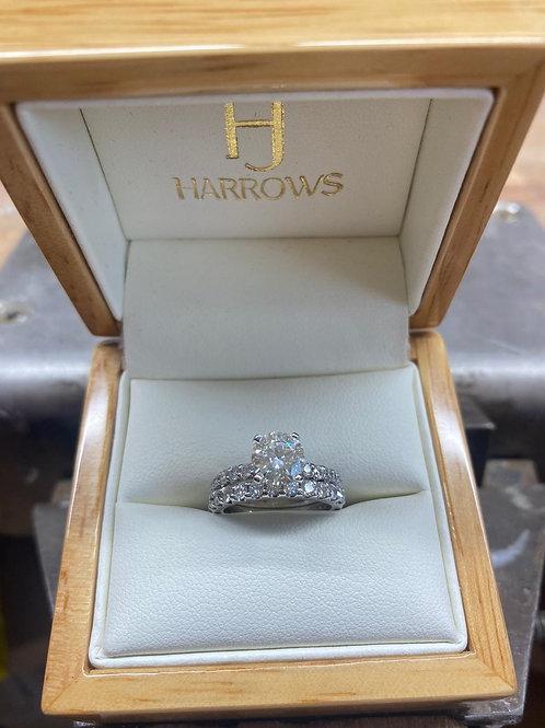 14CT W/G Diamond Rings