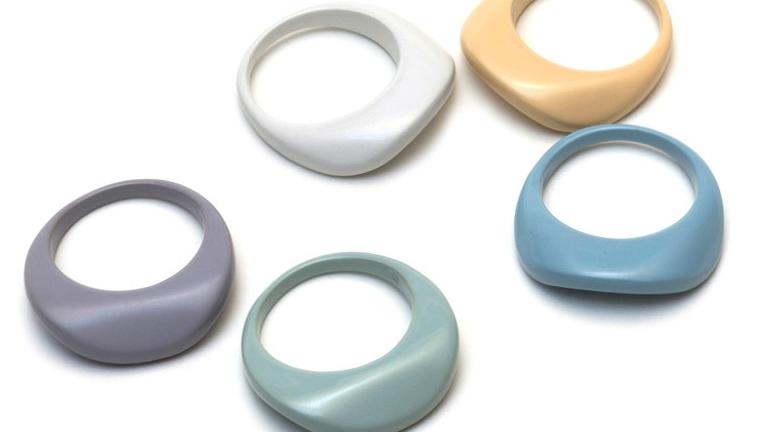 Pastel Princess Wave Ring