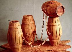 Wood Sculptures 1987-89
