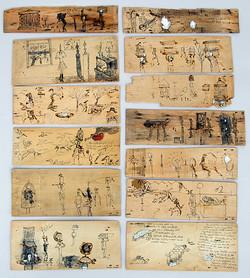 Drawings on Wood 1995