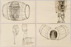 Barrel Drawings 1988