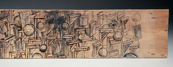 A Study of Gallows on Wood 1992