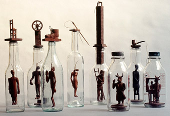 Figures in Bottles
