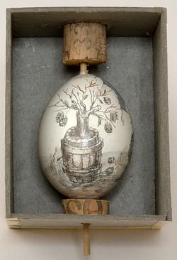 Barrels on Duck Eggs 1993