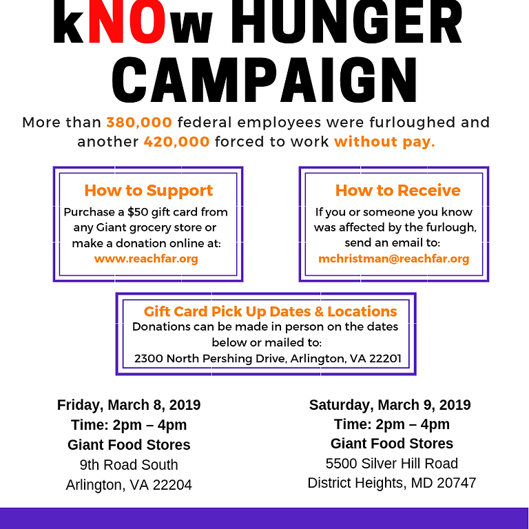 kNOw Hunger Campaign