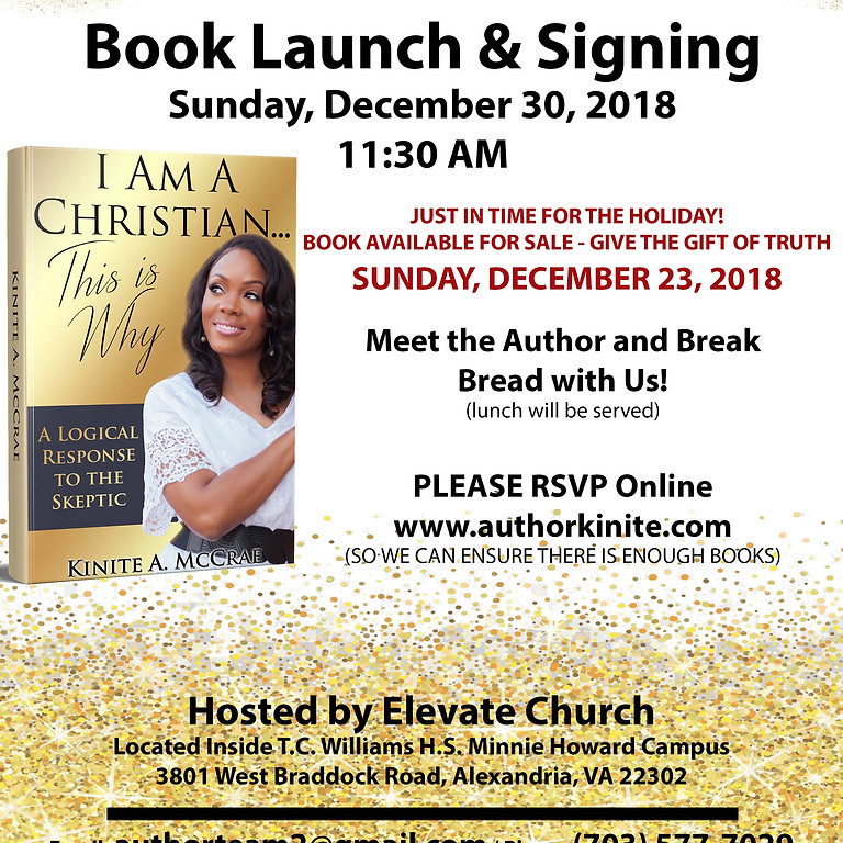 Book Launch & Signing