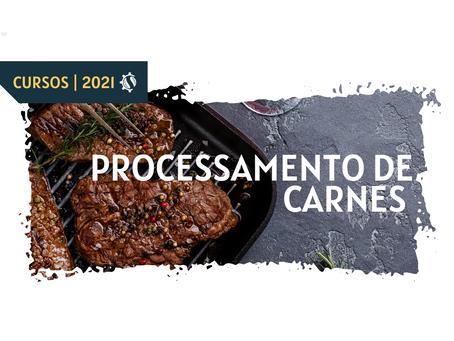 #CURSO PROCESSAMENTO DE CARNES