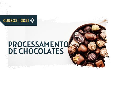 #CURSO PROCESSAMENTO DE CHOCOLATES