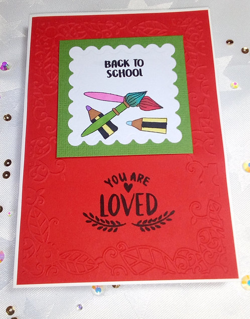Back to school - You are loved