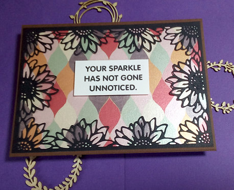 Your sparkle has not gone unnoticed
