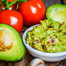 Grilled Pineapple and Cucumber Guacamole