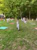 Eerste training met Covid maatregelen, kids en volwassenen