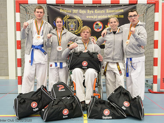 Interclub G-karate te Meerhout