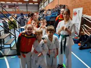 Belgian Championship Kumite te Averbode