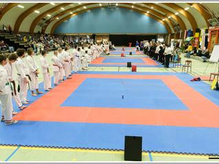 1ste Open Vlaams Kampioenschap G-karate te Leopoldsburg