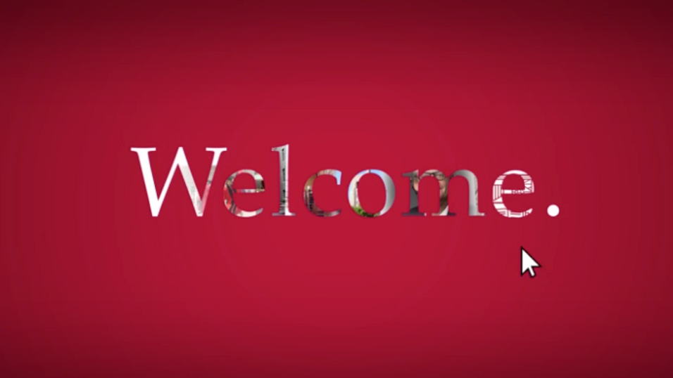 Cornell Law: Landing Page Video