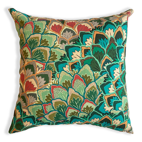 Proud Peacock Pillow Cover