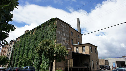Northeast Minneapolis Arts District artist studio building, Casket Arts