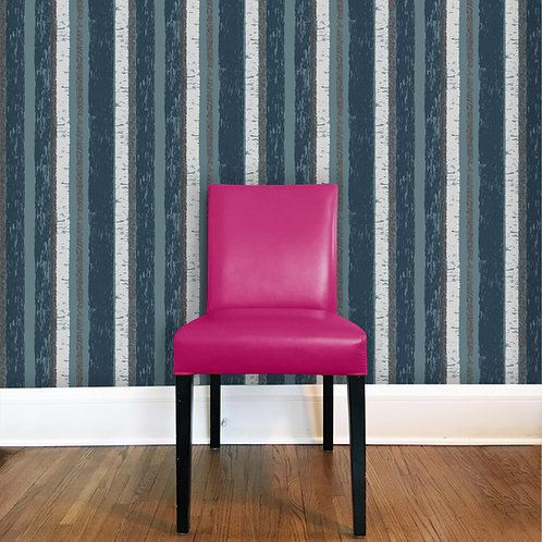 Birch Stripe Wallcovering