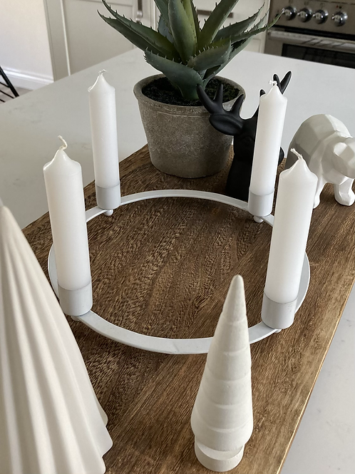 Advent 4 candle holder
