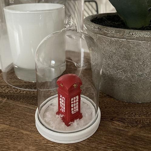 Telephone box bauble