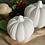 Thumbnail: Small ceramic pumpkin