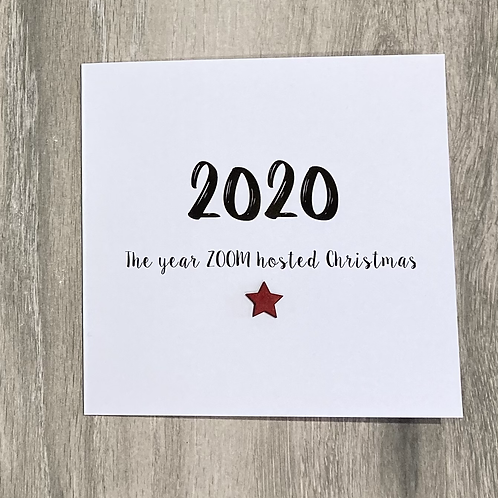 2020 Zoom hosted Christmas