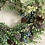 Thumbnail: ONE OFF - Foilage and thistle wreath