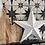 Thumbnail: Large Metal Off White Star