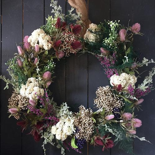 Thistle wreath 1