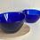 Thumbnail: Blue glass nibbles bowl