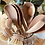 Thumbnail: Solid wood serving spoons - pair