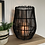 Thumbnail: Black rattan lantern
