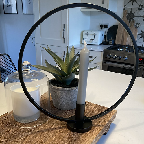 Small Circle Candle Holder