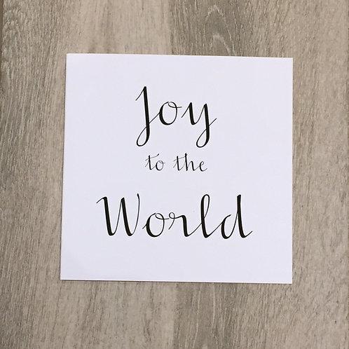 2020 Joy to The World