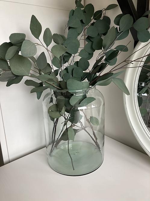 Medium Eco glass vase