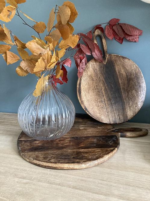 Large Circular chopping/ serving board