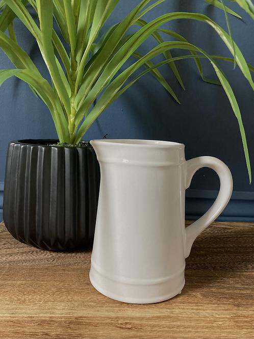 Ceramic White Jug