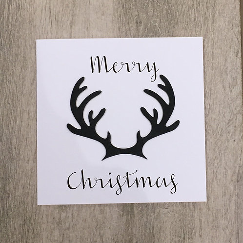 Stag Horn Card