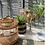 Thumbnail: Clear glass bud vase