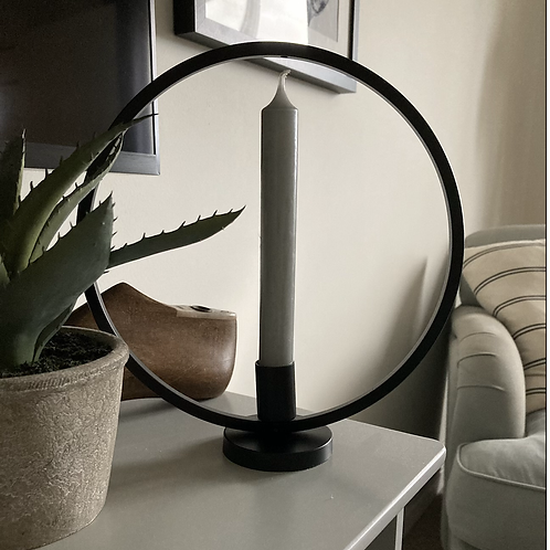 Large Circle Candle holder