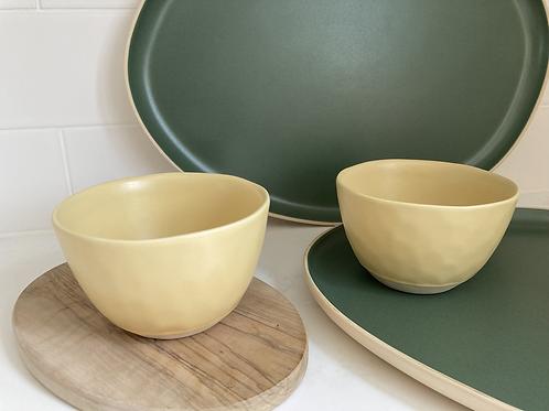 Nibble bowls - green